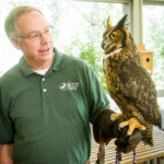 Doug Adair, Executive Director at the Alabama Wildlife Center at Oak Mountain